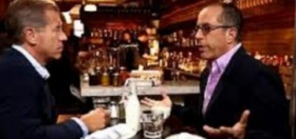 Jerry Seinfeld con Brian Williams para NBC