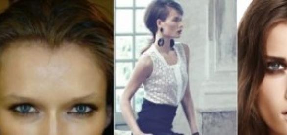 La joven modelo checa, Katerina Netolicka.