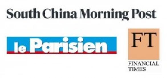 South China Morning Post, Le Parisien e FT