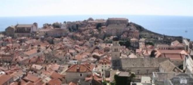 la ciudad antigua de Dubrovnik