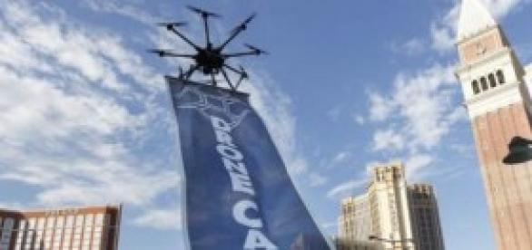 Dronecast y su sistema de publicidad