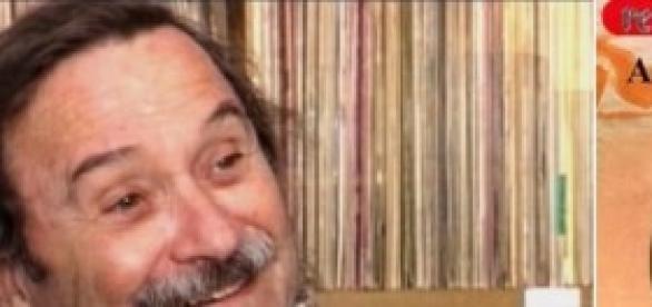 Leon Barg e a capa de um de seus discos