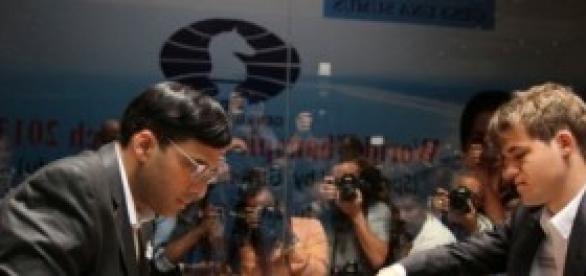 El duelo entre Anand y Carlsen