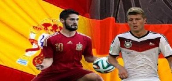 España pierde la buena racha ante Alemania 0-1