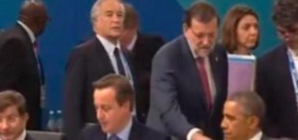 Rajoy ninguneado por Obama y Cameron