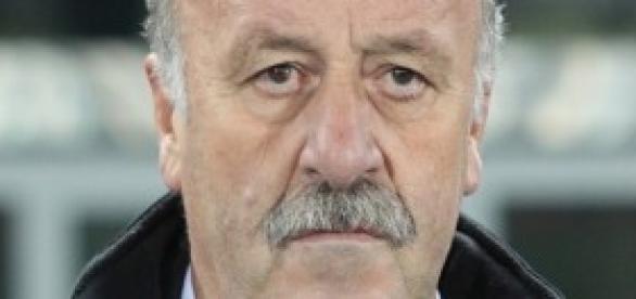 La selección de Del Bosque se enfrentó a Alemania.