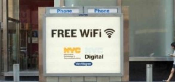 New York Free WiFi digital