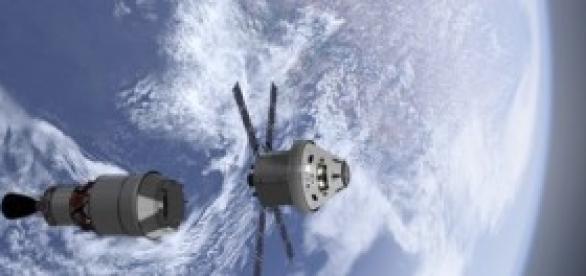 Orion Americana com 'traseira' Europeia