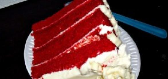 Receita de bolo de veludo vermelho (Wikimedia)
