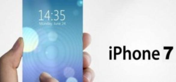 Simulación y prototipo del iPhone 7.