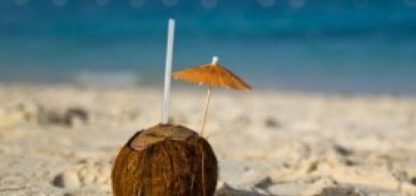 A água de coco é uma boa ideia para a hidratação