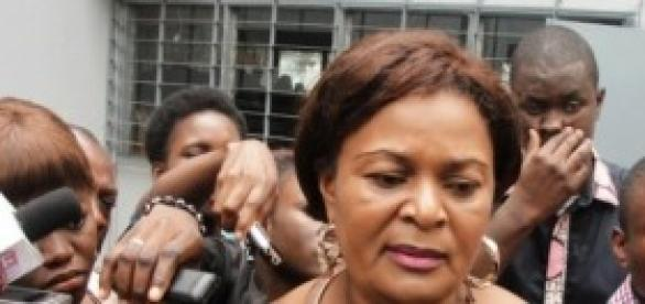 La coordonatrice de Abok I Ngoma Elise Mabala Meka