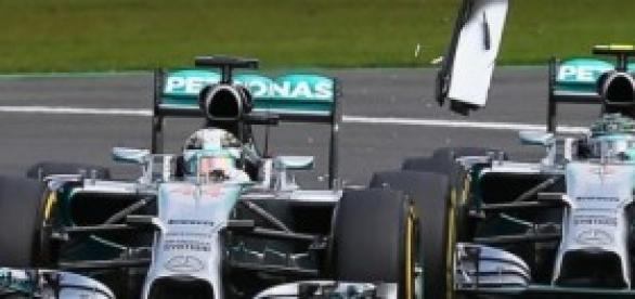 Lewis Hamilton y Nico Rosberg - Spa