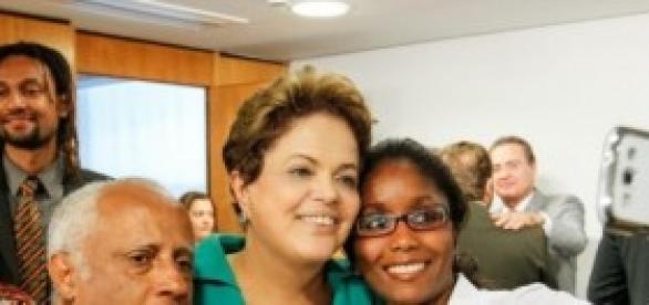 Consciência Negra: presidente Dilma exalta cotas
