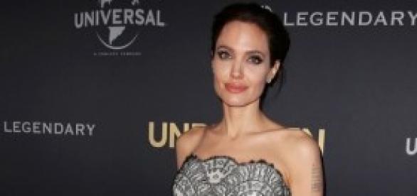 """Jolie en el estreno de """"Invencible"""" en Australia."""