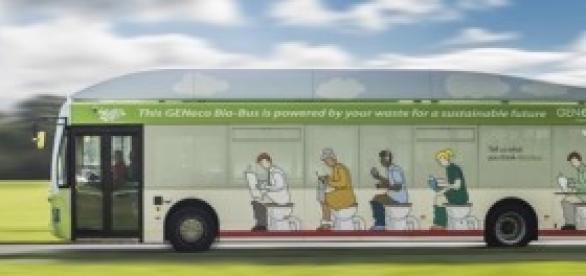 Ônibus movido a bio metano