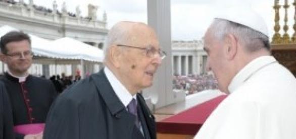Papa Francesco e Napolitano: sì amnistia e indulto