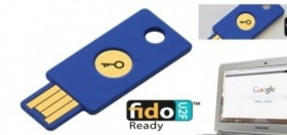 FIDO Alliance U2F Security Key Google