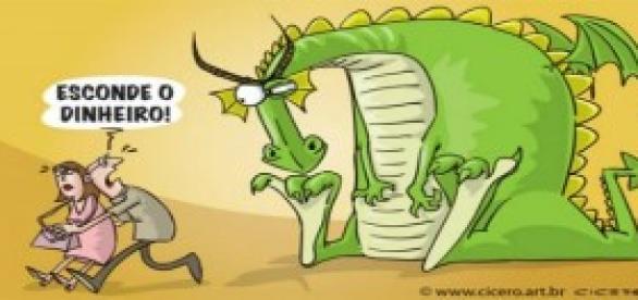 Inflação: animal feroz ameaça economia