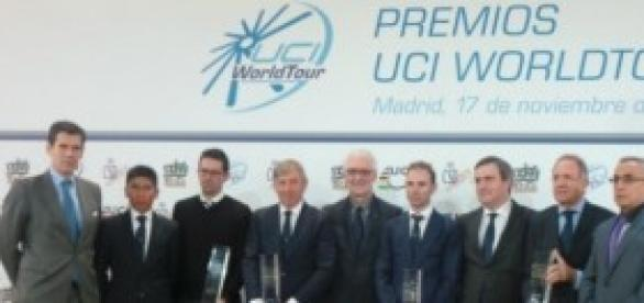 Galardonados en los Premios UCI