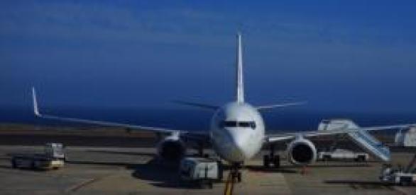 Avión destinado al transporte de pasajeros