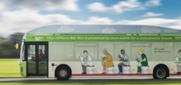 El autobús verde más original