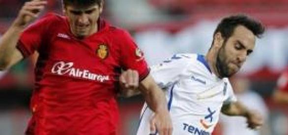 Marco Asensio con su club, el Mallorca