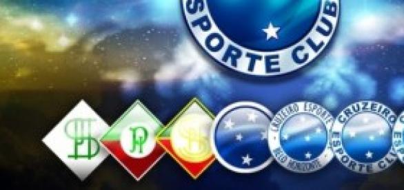 os quatro títulos brasileiros do Cruzeiro