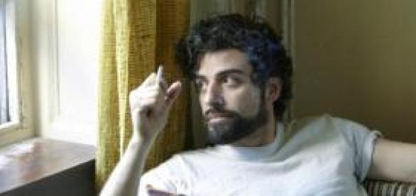 "Oscar Isaac en ""Inside Llewyn Davis"""