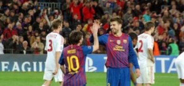Pique y Messi  vuelven a ser claves.