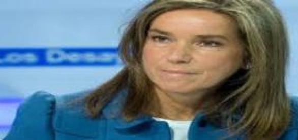 Ana Mato ex ministra de Sanidad