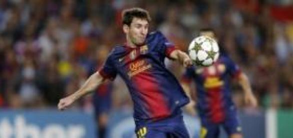 Messi imparable rompiendo récords