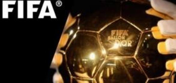 Troféu Bola de Ouro da FIFA.
