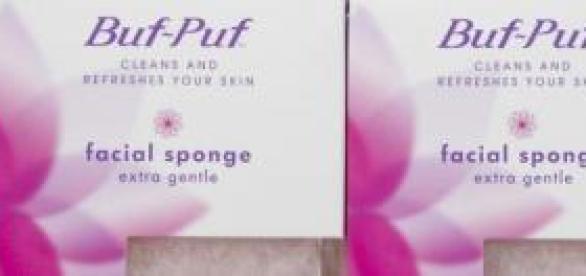 Buf Puf una esponja que limpia a fondo el rostro