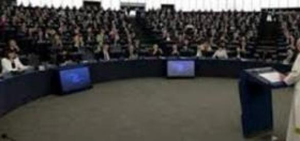 El Papa se dirige al Parlamento Europeo