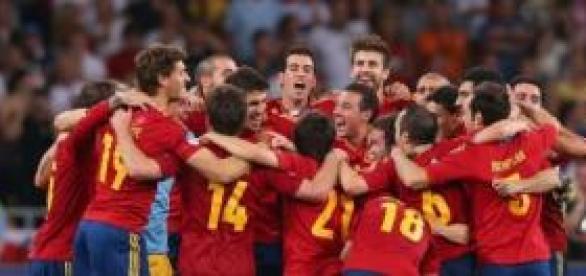 La Selección celebrando antiguas victorias