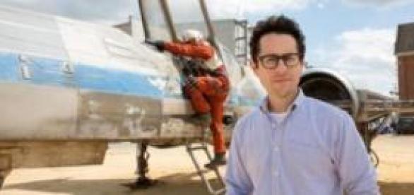 "J.J. Abrams posando por ""Star Wars VII"""