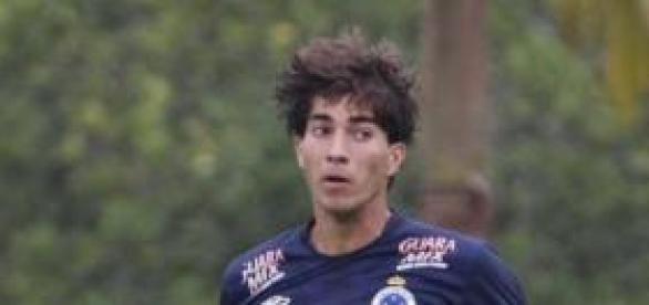 Lucas Silva, con el Cruzeiro. Foto: vipcomm.com.br