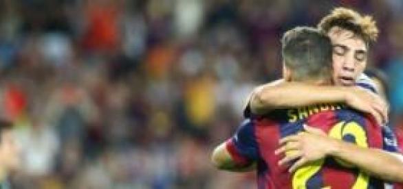 Munir y Sandro, jugadores olvidados en Can Barça.
