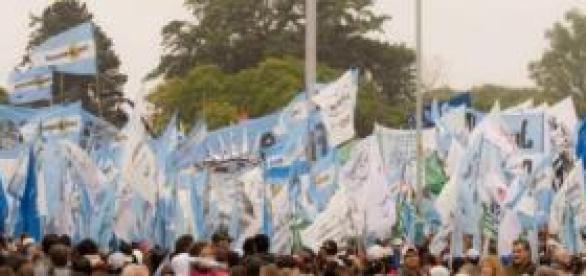 Ciudadanos argentinos en la calle