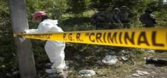 Hallan cinco cuerpos calcinados en Chilapa