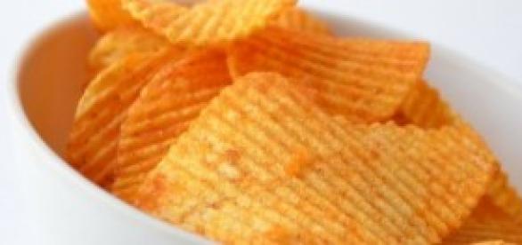 Terão os pacotes de batatas fritas ar a mais?