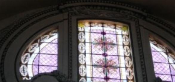 Vitral da Catedral em Roma.
