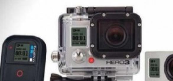 GoPro, la famosa cámara que causa furor.