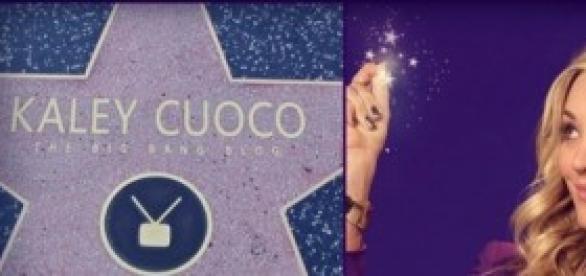 Kaley Cuoco ya tiene la estrella en el Paseo.