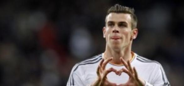 Gareth Bale celebrando un gol. Foto: Mirror