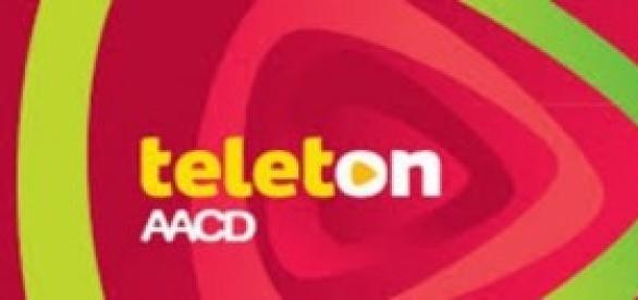 logotipo do teleton e AACD