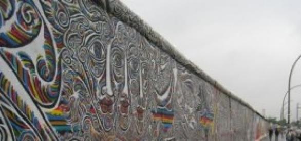 Muro de Berlim: 155 quilômetros de segregação.