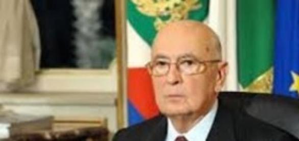 Napolitano lascerà il Quirinale.