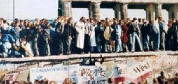 Queda do Muro de Berlim em 9 de novembro de 1989